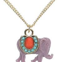 Lovely Gemmounting Elephant Pendant.. on Luulla