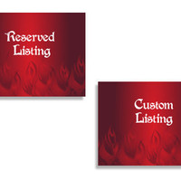 Two Custom Listing Graphic
