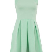 Mint skater dress