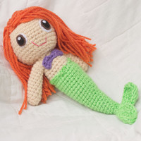 Customize Your Own Mermaid Doll (Crocheted Stuffed Toy)
