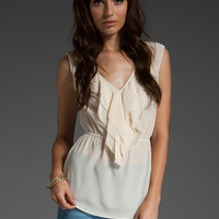 REBECCA TAYLOR Adore Me Blouse in Cream at Revolve Clothing - Free Shipping!