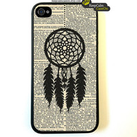 iPhone 4 Case, Dreamcatcher iPhone Case Hard Fitted Case For iphone 4 & iphone 4S.