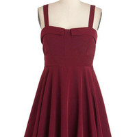 Pomegranate One Wish Dress | Mod Retro Vintage Dresses | ModCloth.com