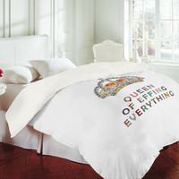 DENY Designs Home Accessories | Bianca Green Her Daily Motivation Duvet Cover