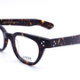 1960s vintage ttortoise rivet eyeglasses glasses by TAKEMOTO