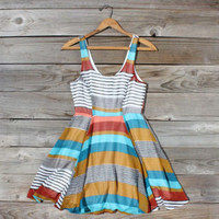 Book Stacks Dress, Sweet Women's Bohemian Clothing