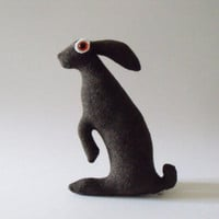 SOLD Baby Hare Fetlar Soft Sculpture by dragonhouseofyuen