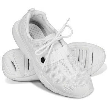 The 11 Degrees Cooler Shoe (Women's). - Hammacher Schlemmer