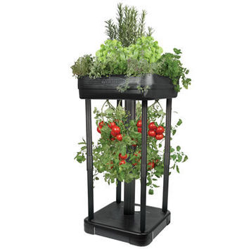The Upside Down Tomato Garden - Hammacher Schlemmer