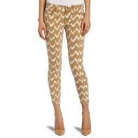 7 For All Mankind Women`s Ikat Cropped Skinny Jean
