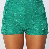 The Annabelle Short in Emerald