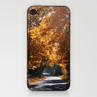 Colored autumn iPhone & iPod Skin by NOVEMBERKIND Flowerdreams | Society6