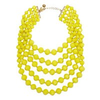 kate spade | cut to the chase bib necklace