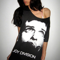 Joy Division Ian Curtis Goth Post Punk Rock T-Shirt M