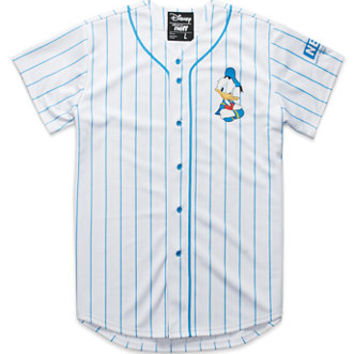 Neff Donald Baseball Jersey  Mens Tee  White