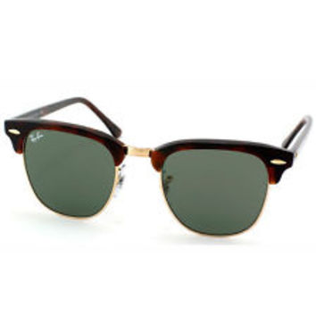 Ray-Ban RB 3016 Clubmaster W0366 Tortoise and Arista Gold