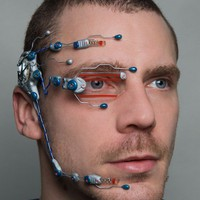 Technician cybernetic head system
