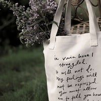 Mr Darcy Proposal tote bag by Brookish on Etsy
