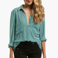 Erin Collared Blouse $33