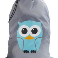 Whos Hoot? Laundry Bag | Mod Retro Vintage Decor Accessories | ModCloth.com
