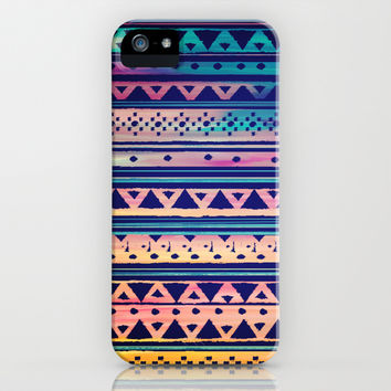 SURF TRIBAL PATTERN iPhone & iPod Case by Nika