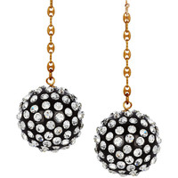 Lulu Frost | Siren Swarovski crystal drop earrings | NET-A-PORTER.COM