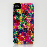Floral Explosion iPhone Case by Amy Sia | Society6