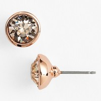 Women's Givenchy Stone Stud Earrings - Rose/ Silk