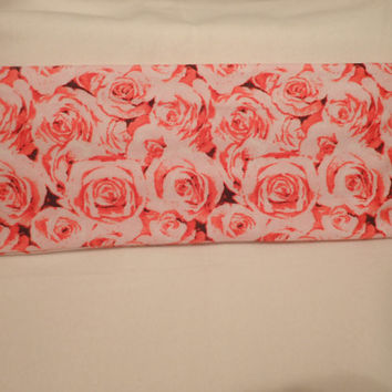 Neck Heating Pad, Cold Pack, Lower Back, Medium Sized, Rice Bags, Relaxation, Pink Roses, Bouquet Of Pink Roses, Roses