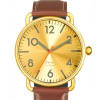 Witherspoon Watch in Brass by Projects Design - Pop! Gift Boutique