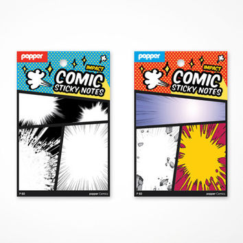 Comic Sticky Notes