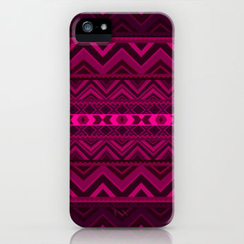 Pink #6 iPhone & iPod Case by Ornaart