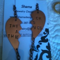 Thick as Thieves keychain necklace bracelet -with or without handcuff charms