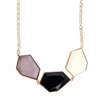 Tri-Stone Necklace - 2020AVE