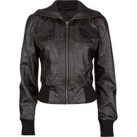 FULL TILT Faux Leather Womens Bomber Jacket 198101100 | Jackets | Tillys.com