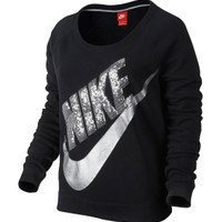 Nike Women's Rally Sequin Crewneck Sweater | DICK'S Sporting Goods