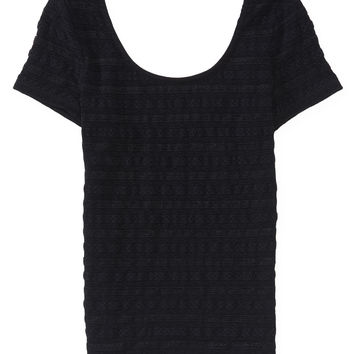 Aeropostale  Shimmer Lace Bodycon Top