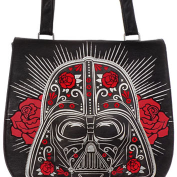 Darth Vader Roses Messenger Bag