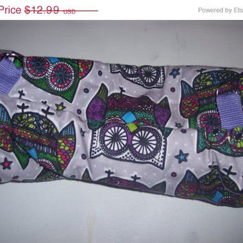 Ferret, Hedgehog, Guinea Pig, Hamster, Rat , Small Animal, Tunnel Fleece, Purple Funky Owls, Mosaic Owls,