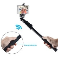 Kootek® Professional Bluetooth Selfie Stick with Remote Button Heavy Duty Extendable Handheld Monopod Camera Pole for iPhone 6 6 Plus 5S 5C 5 4S 4, Samsung Galaxy S5 S4 S3 Note 3 Note 2