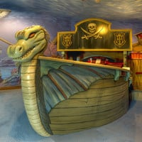 Sunken Viking Ship Bed and Deep Sea Mural : Ultimate Posh at PoshTots