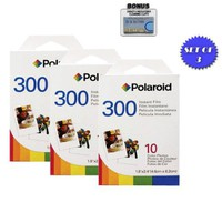 3 Pack of Polaroid 300 Film PIF-300