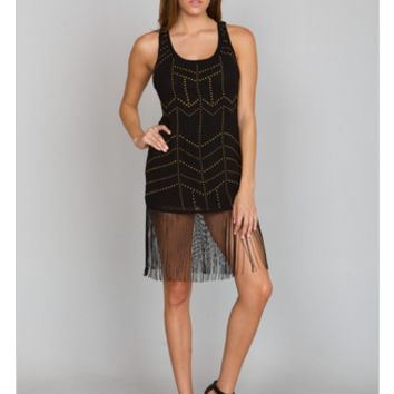Daisy Fringe Dress