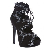 PHILIPP PLEIN open toe boot