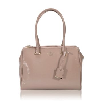 kate spade new york Cedar Street Patent Small Reena Satchel at Von Maur