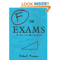 F in Exams: 9781840247008: Amazon.com: Books