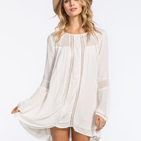 Volcom Traffik Dress Cream  In Sizes