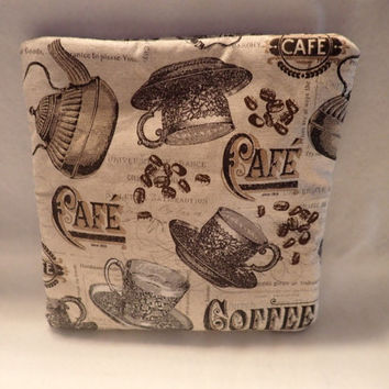 Coffee Cup, Latte Drink, Microwave potato bag bag for microwaving potatos, med Sized, Coffee Bean, Coffee Cafe, Coffee Pot, Tea Kettle