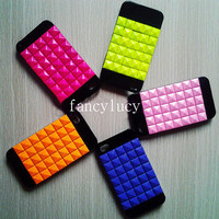 iPhone case Studded iPhone Case - studded iphone 4 case- studded iphone 4s case stylish iphone case high fashion colorful cute iphone case