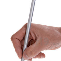 The Inkless Metal Pen: Alloy tip never needs to be replaced